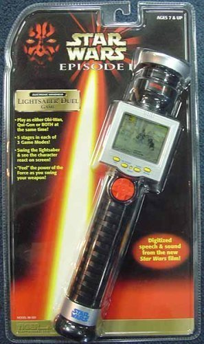Tiger Electronics Handheld Lightsaber Duel Game