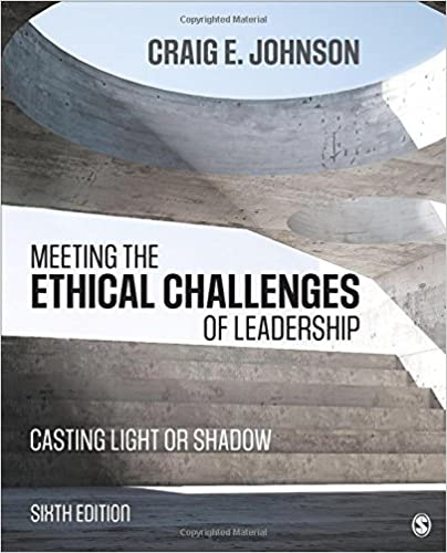 Meeting the ethical challenges of leadership casting light or meeting the ethical challenges of leadership casting light or shadow sixth edition fandeluxe Images