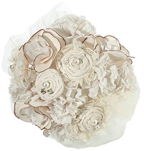 Lillian Rose Rustic Country Burlap Wedding Bouquet