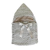 Saquito para cubrir al recién nacido color gris - PEONI MILOU/bebé/niño/niña/regalo para baby shower/salida de hospital/regalo para nacimiento/sesión de fotos