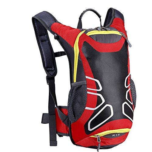 OCT17 Lightweight Backpack Men Women Water Resistant Durable Adjustable Travel Cycling Hiking Camping Outdoor Daypack Waterproof