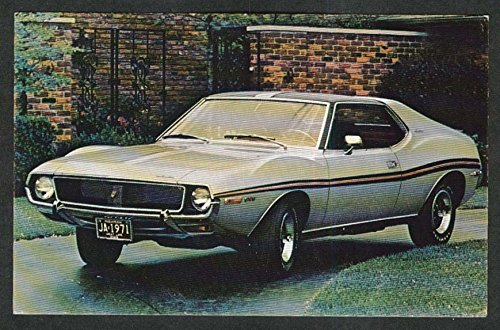 American Motors 1971 Javelin SST car postcard