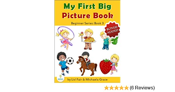 My First Big Picture Book Sport Games Food And Drinks Beginner
