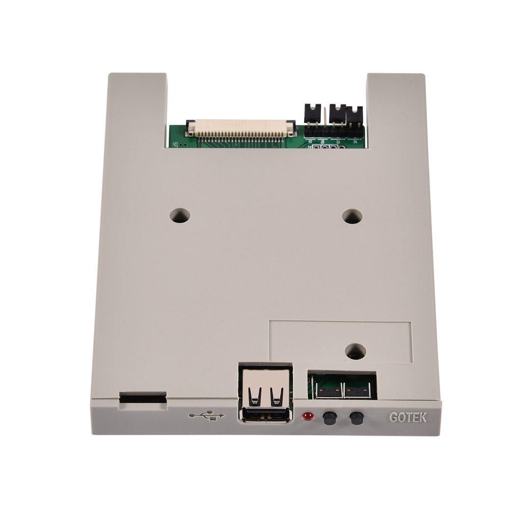 Richer-R Usb Emulator, SFRM72-DU26 720K USB Floppy Drive Emulator with High Security Data Protection, Easy to install and User-friendly for BARUDAN BENS Embroidery Machine by Richer-R (Image #1)