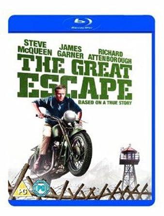 The Great Escape.The Great Escape Blu Ray 1963 Amazon Co Uk Steve