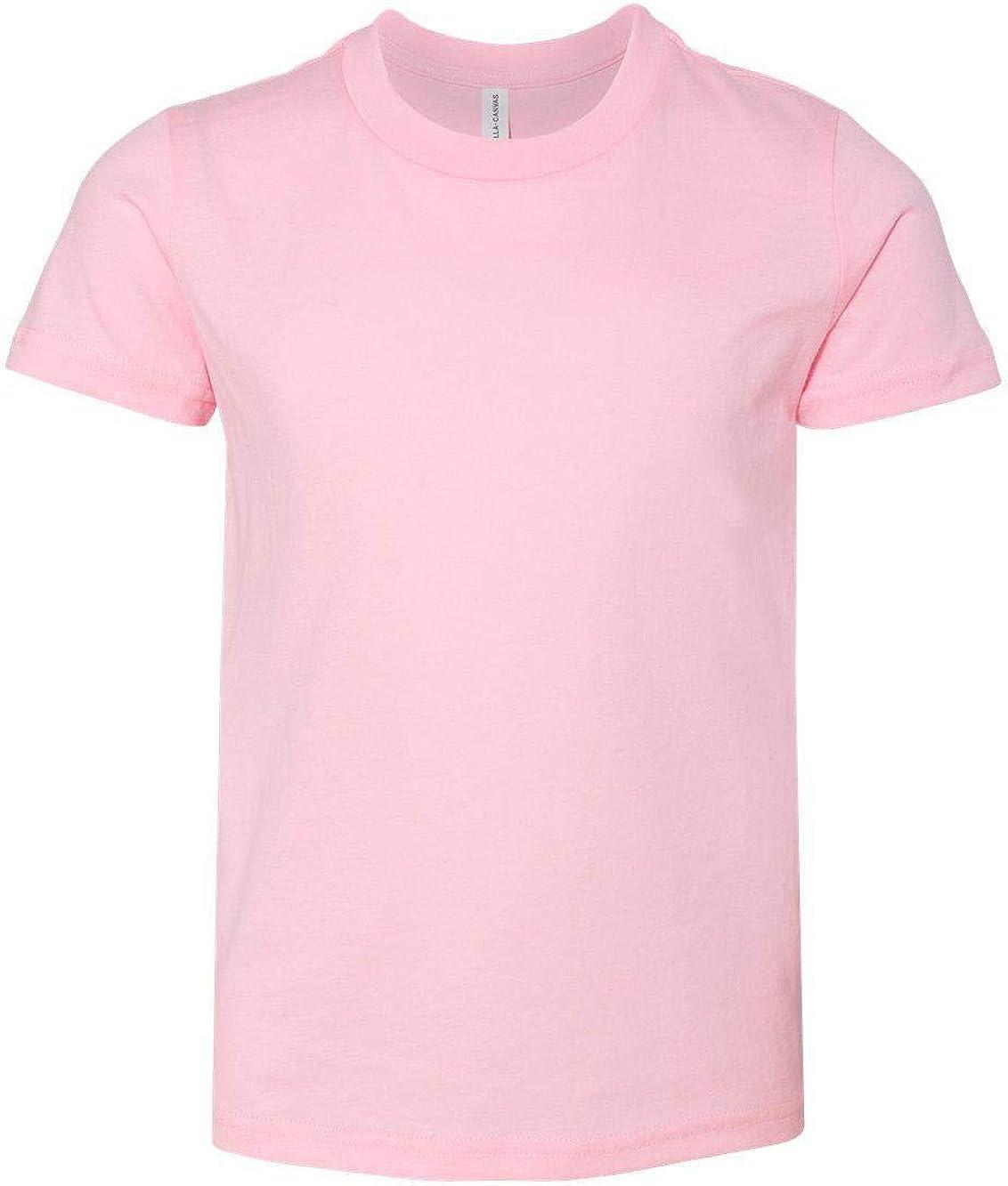 Kids Polycotton Short Sleeve Tee Bella Canvas Toddler Triblend T-shirt 3413T