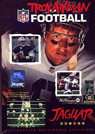 Image result for Troy Aikman Football Atari Jaguar