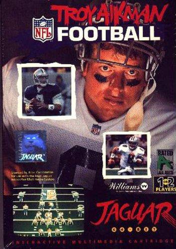 Troy Aikman Football Atari Jaguar