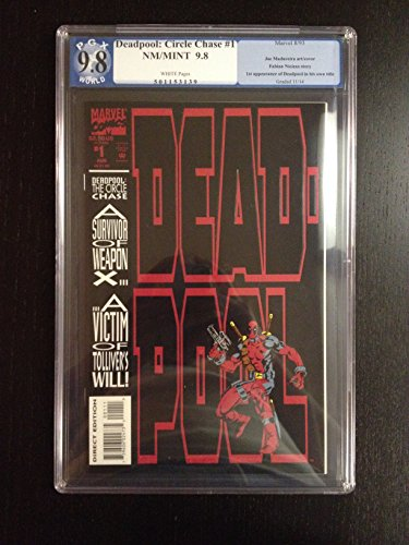 Deadpool - Circle Chase #1 Vol 1 1993 PGX 9.8 NM 1st Weasel! 1st solo Deadpool!