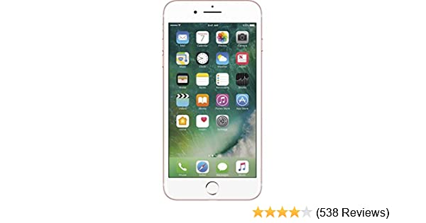 Amazon Com Apple Iphone 7 Plus Gsm Unlocked 32gb Rose Gold