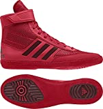 adidas Combat Speed 5 Men's Wrestling Shoes, Red/Dark Red, Size 9.5