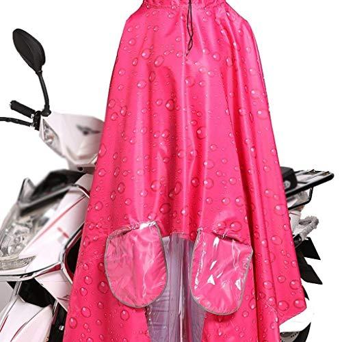 Classiche Plain Spessa Auto Moda Donne Poncho Colour Impermeabile Esterno Per 1 Elettriche Con Cappuccio Rain Adulti 8zqT4X