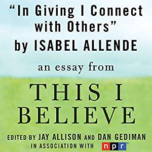 In Giving I Connect with Others Audiobook