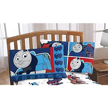 Thomas The Train Pillowcase Fascinating Amazon Thomas The Tank Engine Go Go Reversible Pillowcase Home
