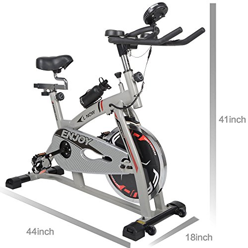 L NOW LD-598 Indoor Stationary Cycling Bike - Chain-driven of True Road Feel