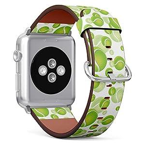 רצועת עור לשעון יד חכם עם איורים של טניס רק באתר tennisnet !