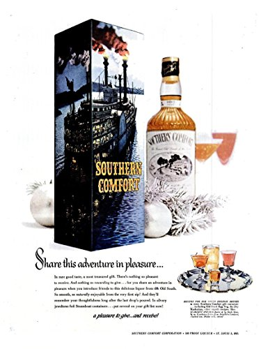 original-print-ad-1956-southern-comfort-whiskey-share-this-adventure-in-pleasure-vintage-large-color