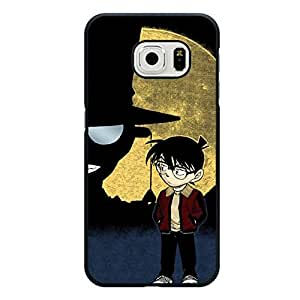 Unique Design Conan Edogawa Detective Conan Cover Case for Samsung Galaxy S6 Edge Japanese Hot Anime TV