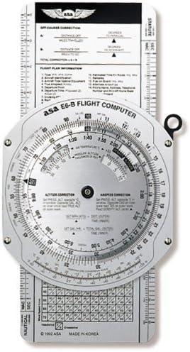 ASAs Color E6B Flight Computer