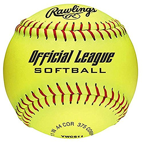 Rawlings YWCS11-BOX6 Ywcs11-11 Official League Recreational Fastpitch ()