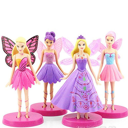 4pcs/set Best Action Figure PVC DOLLS Perfect Toys FOR KIDS Christmas Gifts Girls Toys