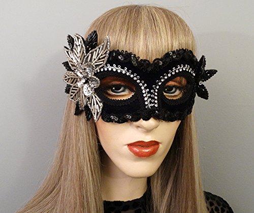 Aria Black Masquerade Mask