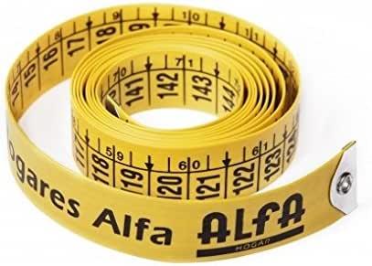 Alfa 6044-Blister Cinta métrica 1.5 Metros: Amazon.es: Hogar