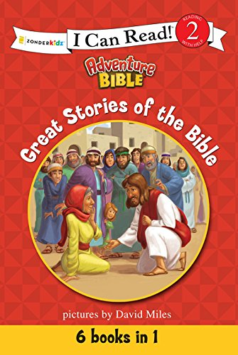Great Stories of the Bible (I Can Read! / Adventure Bible) by HarperCollins Christian Pub.