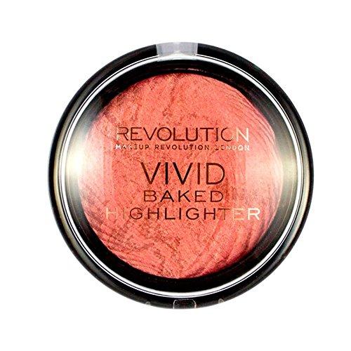 Maquillaje Revolution Vivid Baked Highlighter–Rose Gold Makeup Revolution 18695