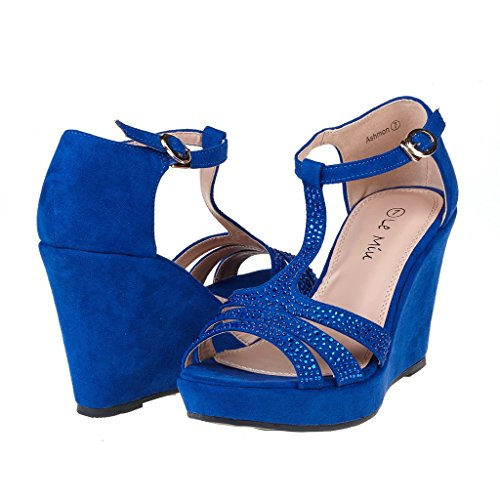 Blue Wedge: Amazon.com