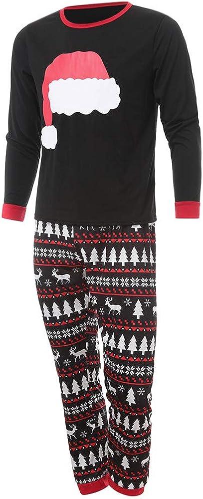 JiaMeng-ZI Pijamas de Navidad Familia, Ropa de Noche Homewear Algodón Camisas de Manga Larga + Pantalones Largos Sudadera Invierno Conjunto de Pijamas Familiar para Dad Mom Niños Bebé: Amazon.es: Ropa y accesorios