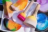 LIGONG 20 Pieces Round Sponge Painting Brush