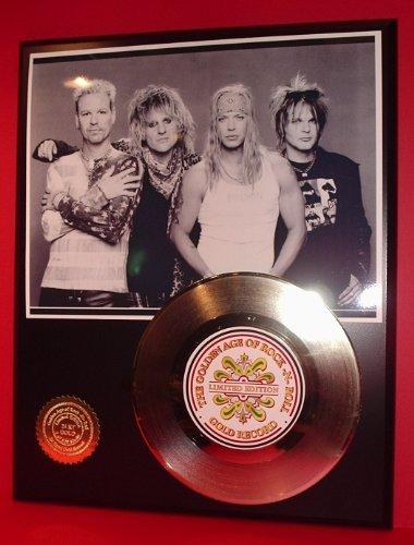 Poison 24Kt Gold Record LTD Edition Display ()
