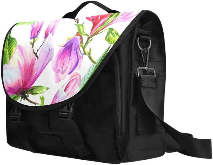 Woman Satchel Handbag Charming Purple Papaver Multi-Functional Womans Fashion Bags Fit for 15 Inch Computer Notebook MacBook