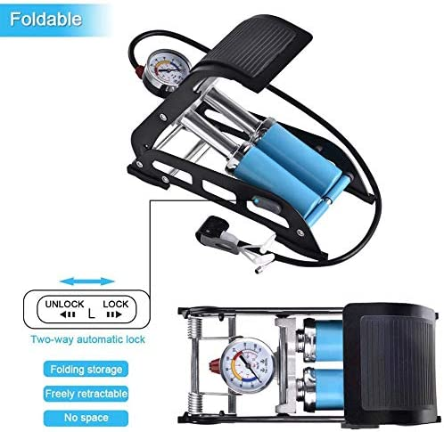 Drohneks Bomba de pie, Bomba portátil de Bicicleta de Piso con ...