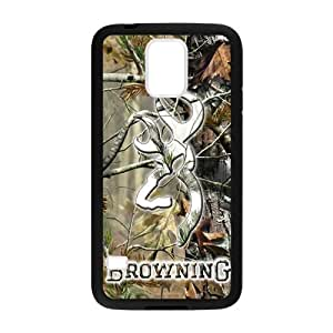 Canting_good Browning Cutter Logo Real Tree Custom Case Shell Cover for Samsung Galaxy S5 (Laser Technology)