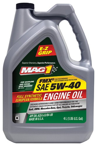Mag 1 (62838-3PK) SAE 5W-40 Full Synthetic European Formula Engine