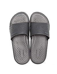 bd6554149e2da0 ITAZERO Mens Slides Sandals Comfort Summer Slide On Beach Pool Unisex Slide  Slippers