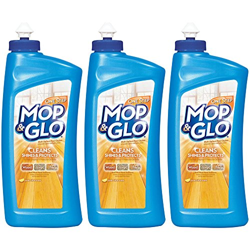 - Mop & Glo Multi-Surface Floor Cleaner, Fresh Citrus scent 32 Ounce (Pack of 3)