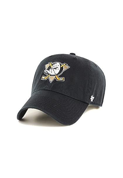 c185149dd33 Amazon.com   47 Brand Relaxed Fit Cap - CLEAN UP Anaheim Ducks black ...