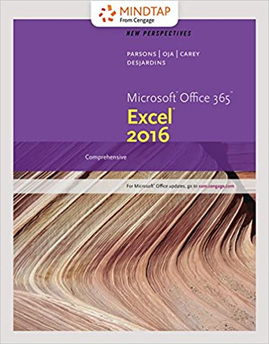 Bundle: New Perspectives Microsoft Office 365 & Excel 2016