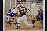 Matt Antonelli San Diego Padres Wake Forest Autograph 8x10 Signed Bat Photo 16K