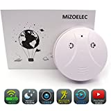 Spy Camera WiFi HD 1080P Hidden Camera Home Smoke Detector Mini Camera Nanny Cam Home Security Camera Wall Mount Motion Detection Mini Video Recorder iOS Android Free APP