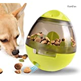 Treat Ball Toy for Dogs and Cats, Interactive Dispensing Ball for Increasing IQ & Mental Stimulation, Pet Bite Toys with Tumbler Design and Easy to Clean