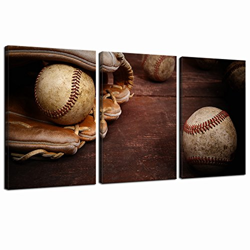 Old Vintage Baseball Canvas Prints Wall Art Sports Paintings Picture ...