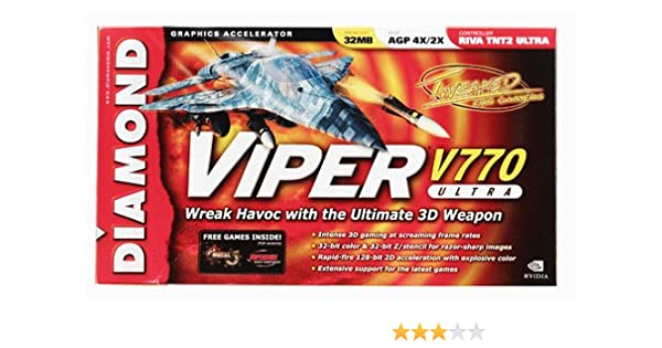DIAMOND MULTIMEDIA VIPER V770 TREIBER WINDOWS XP