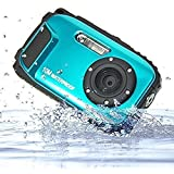 Stoga CGT002 2.7 inches LCD Digital Camera 16MP Video Camcorder Waterproof Camera Zoom Video Recorder + 8X Zoom Free Shipping Action Cam-Blue