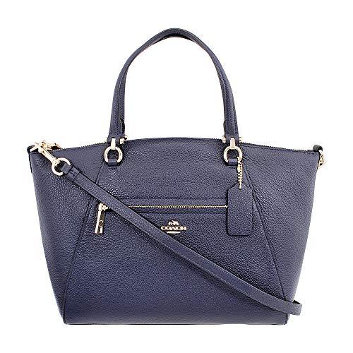 Coach Prairie Ladies Medium Leather Satchel Handbag 58874