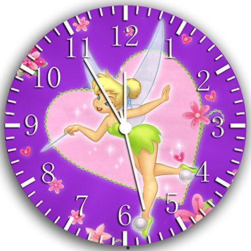 Tinker Bell Frameless Borderless Wall Clock W235 Nice For Gift or Room Wall Decor
