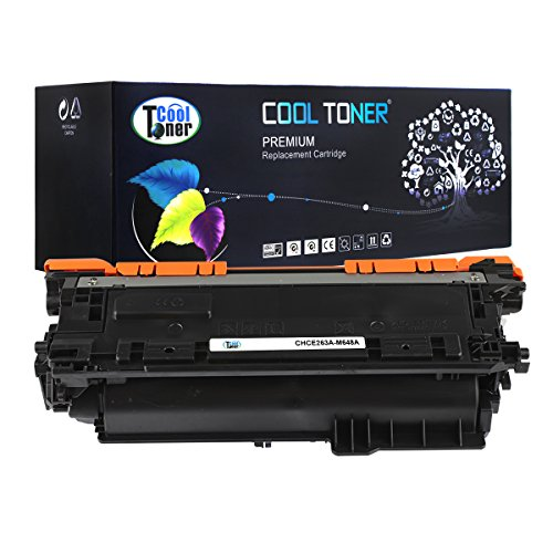 Cool Toner CHCE263A-M648A Compatible Toner Cartridge Replacement for HP CE263A 648A (Magenta)